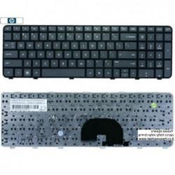מקלדת למחשב נייד כולל חריטה בעברית HP Pavilion DV6-6000 Laptop Keyboard 640436-001 ,  640436-BB1 ,  640436-BB1 , 634139-BB1 - 1
