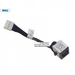 שקע טעינה כולל כבל למחשב נייד דל Dell Vostro V131 Power Input Plug with DC Jack - GC2G4 - 1 -