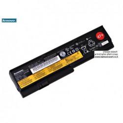 סוללה / בטריה מקורית למחשב נייד לנובו Lenovo X200 / X201s 42T4534 42T4536 42T4646 42T4648 Genuine 6 Cell Battery - 1 -