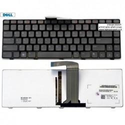 מקלדת מקורית דל מוארת לדגמים Dell XPS 15 (L502X) , Inspiron 14R (N4110) , Inspiron 14z (N411Z) NSK-DX0BQ , 05M98N , 0PVDG3 - 1 -