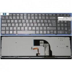 מקלדת מוארת להחלפה במחשב נייד HP DV7-7000 BLACK FRAME BLACK Backlit NSK-CJ1BW 0H - 1 -