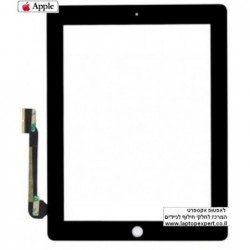 מסך מגע מקורי (דיגיטייזר - זכוכית) לאייפד 3 Original Black / White Touch Screen for iPad3 - 1 -