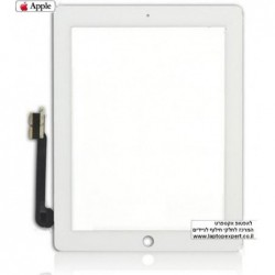 מסך מגע מקורי (דיגיטייזר - זכוכית) לאייפד 3 Original Black / White Touch Screen for iPad3 - 2 -