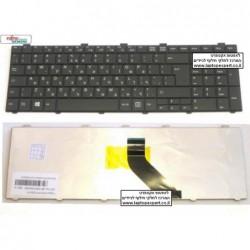 מקלדת להחלפה במחשב נייד פוגיטסו Fujitsu Lifebook AH512 Keyboard CP513253-01 / MP-09R76003D85 - 1 -