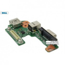 כרטיס שקע טעינה למחשב נייד דל Dell Inspiron 15r N5110 Vostro 3550 Power DC Jack - PFYC8 - 1 -