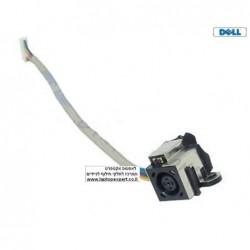 שקע טעינה כולל כבל למחשב נייד דל Dell Studio 1535 1536 1537 1555 1557 1558 DC Power Input Jack with Cable - K324D - 1 -