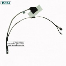 כבל מסך למחשב נייד אייסר Acer Aspire One D250 KAV60 Lcd & Webcam Cable DC02000SB10 - 1 -