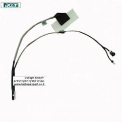 כבל מסך למחשב נייד אייסר Acer Aspire One D250 KAV60 Lcd & Webcam Cable DC02000SB10 - 1 -