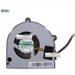 מאוורר להחלפה במחשב נייד שמתחמם אייסר Acer Aspire 5552 5252 5740 5740G Cpu Fan - KSB06105HA -9K1N - 1 -
