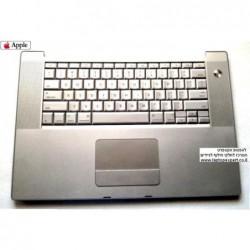 החלפת מקלדת למחשב נייד אפל מקבוק Apple Macbook Pro A1226 A1260 TOP CASE PALMREST TOUCHPAD KEYBOARD - 922-8036 , 820-4308