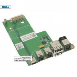 כרטיס שקע טעינה למחשב נייד דל Dell Latitude E5500 DC Power Board Audio Jack IO Circuit Board  - F171C - 1 -