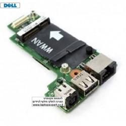 כרטיס שקע טעינה למחשב נייד כולל כ.רשת Dell Vostro 3300 DC Jack USB Ethernet Board 5G3D5 CN-05G3D5 - 1 -