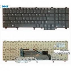 מקלדת למחשב נייד דל כולל עכבר מובנה Dell Latitude E5520 / Precision M6600 Laptop Keyboard  - HG3G3 , 023PMT - 1 -