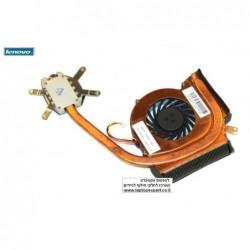 מאוורר למחשב נייד לנובו כולל גוף קירור Lenovo Thinkpad L412 L512 CPU Fan Cooling Heatsink - 60Y5019 - 1 -