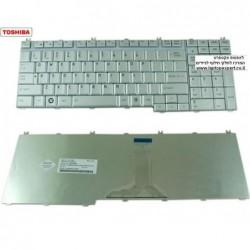 מקלדת למחשב נייד טושיבה צבע לבן Toshiba Satellite P200 P300 P305 L350 L355 L500 L505 A500 A505 P500 P505 X300 X305 QOSIMIO G50 -