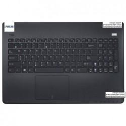 מקלדת למחשב נייד אסוס כולל תושבת פלסטיק ומשטח עכבר Asus X501 Front bezel cover touchpad with Keyboard 0KNB0-6103HE00 - 1 -