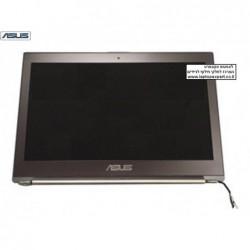 קיט מסך להחלפה במחשב נייד אסוס צבע כסוף כולל כבל מסך וציריות Asus UX31E Silver Screen Aseembly 18030-13310200 - 1 -