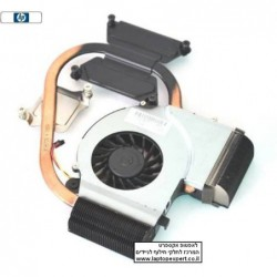 מאוורר למחשב נייד HP Laptop DV5-2000 Heat Sink CPU FAN 606889-001 6043B0078201 KSB05105HA - 1 -