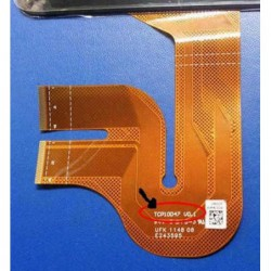 """מסך מגע (דיגיטייזר - זכוכית) לאסוס טאבלט Asus Transformer Pad TF700 TF700T 10.1"""" Touch Screen Digitizer Glass - 3 -"""