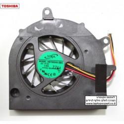מאוורר למחשב נייד טושיבה Toshiba Satellite A500 Laptop CPU Fan - AB7005HX-SB3 - 1 -