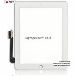 מסך מגע מקורי (דיגיטייזר - זכוכית) לאייפד 4 Original Black / White Touch Screen for iPad4 - 1 -