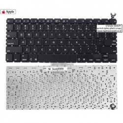 החלפת מקלדת למחשב נייד אפל מקבוק Apple A1181 Macbook 13.3 inch Keyboard KB.A0809.003 , KBA0809003 - 1 -