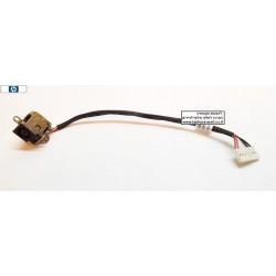שקע טעינה למחשב נייד HP DV6-6000 DV6-6100 DV6-6200 DV7-6000 POWER JACK 50.4RN09.001 640424-001 B2995050G00012 - 1 -