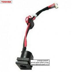 שקע טעינה למחשב נייד טושיבה Toshiba L510 L515 L521 L526 L536 L538 Power DC Jack with Cable - PJ520 - 1 -