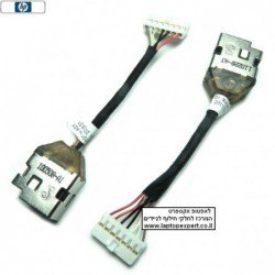 שקע טעינה להחלפה במחשב נייד HP dv5 2000 / Hp G6 (With Amd Cpu) DC Power Jack With Cable 6017B0258701 - 1 -