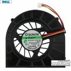 מאוורר להחלפה במחשב נייד דל DELL INSPIRON N5010 M5010 15R LAPTOP CPU COOLING FAN MF60120V1-B020-G99 Rev : A01 - 1 -