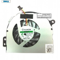 מאוורר מקורי למחשב נייד דל Dell Inspiron N4110 Laptop CPU Fan 0HFMH9 - SUNON MF60100V1-Q032-G99 - 1 -