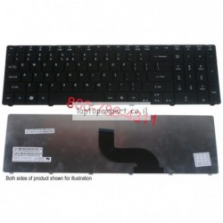 החלפת מקלדת למחשב נייד אייסר Acer Aspire 5733 5733Z 5750Z - Laptop Keyboard Black - 9J.N1H82.01D, 9J.N1H82.K1D