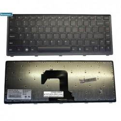 מקלדת להחלפה במחשב נייד לנובו Lenovo Ideapad S300 S310 S400 S405 S410 Black - 25205195 T3E1-US - 1 -