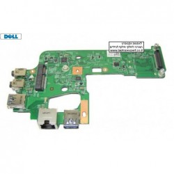 כרטיס למחשב נייד דל Dell Inspiron N5110 / Vostro 3550 / 3555 NEC IO Audio USB 3.0 Ethernet Board 48.4IF04.011 , 4DTX8 , 7WKTD -