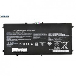 סוללה לטאבלט אסוס ASUS TF201 Prime 32GB Tablet Genuine Battery C21-TF201P , 3380 mAh 25Wh - 1 -