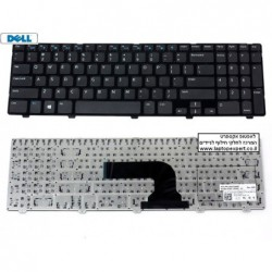 החלפת מקלדת למחשב נייד דל Dell Inspiron 3521 / 5521 Keyboard US Black DP/N YH3FC 0YH3FC - 1 -