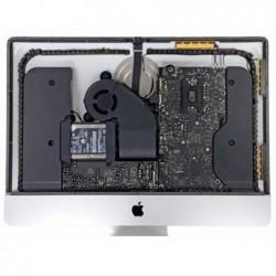 תיקון לוח אם ברמת רכיב , החלפת קונקטורים , כרטיס מסך , תיקון קצרים על הלוח במחשבי אפל איימק iMac Logic Board Repair - 1 -