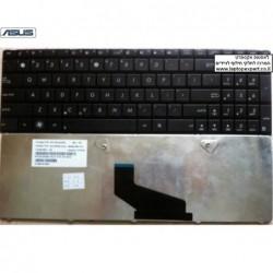 מקלדת מקורית למחשב נייד אסוס - דגם חדש ASUS A53 K53 X53 X54 X73 Series Laptop Keyboard - 70-N5I1K1000 - 1 -