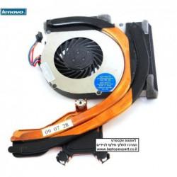 מאוורר להחלפה במחשב נייד לנובו כולל גוף קירור Lenovo Thinkpad T400S Fan Plus Cooling Heatsink 60Y4072 60Y4071 Laptop - 1 -
