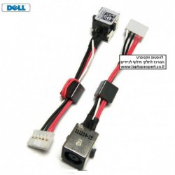 שקע טעינה למחשב נייד דל Dell Inspiron 15R 5520 7520 WX67P Vostro 3560 DC POWER JACK WITH CABLE - 1 -