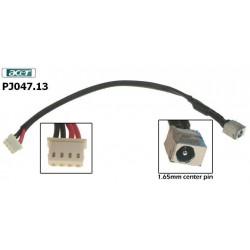 PJ 047.13 - Acer Aspire 5920 dc power jack שקע טעינה למחשב נייד אייסר - 1 -