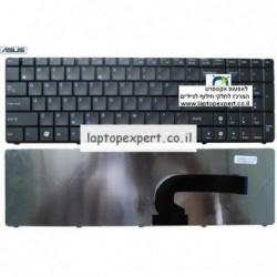 החלפת מקלדת למחשב נייד אסוס  - צבע אפור ASUS P53 X55 X75 A54 laptop keyboard - 04GN0K1KND00-2 - 1 -