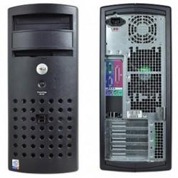 שרת יד שניה מחודש לארגון עסקי קטן או למטרת שרת טרמינל Dell Sc420 / P4 CPU / 2GB / 2X160GB - 1 -