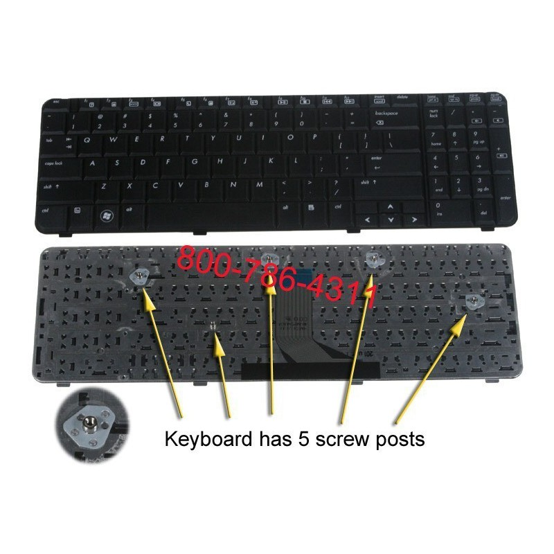 HP Pavilion dv6000 Board Switch / Button Cover פלסטיק פאנל הדלקה