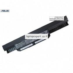 סוללה מקורית 6 תאים למחשב אסוס Asus ASUS K54 K54C K54H K54HR K54HY K54L Laptop A41-K53 - 1 -