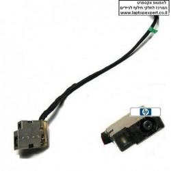שקע טעינה כולל כבל להחלפה במחשב נייד HP Pavilion 15-e027TX 15-e028TX 15-e029TX HARNESS DC POWER JACK WITH CABLE - 1 -
