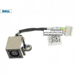 שקע טעינה חיבור כניסת מתח למחשב נייד דל Dell Vostro 3460 / Inspiron 14R 5420 / 7420 DC Power Input Jack with Cable - 3DWW2 - 1 -