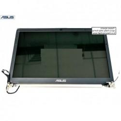 קיט מסך להחלפה כולל גב מסך , מסגרת מסך , ציריות וכבל מסך למחשב נייד אסוס Asus Zenbook U46E Laptop lcd screen display assembly -