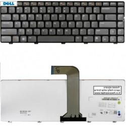 החלפת מקלדת למחשב נייד דל Dell VOSTRO 2520 3350 1440 V1440 V1450 1450 V131 Keyboard - 04341X , 9Z.N5XSW.00U , NSK-DX0SW - 1 -