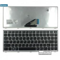 מקלדת למחשב נייד לנובו מסגרת כסופה Lenovo Ideapad U310 Keyboard 25-204949 T3D1-US 25204949 - 1 -